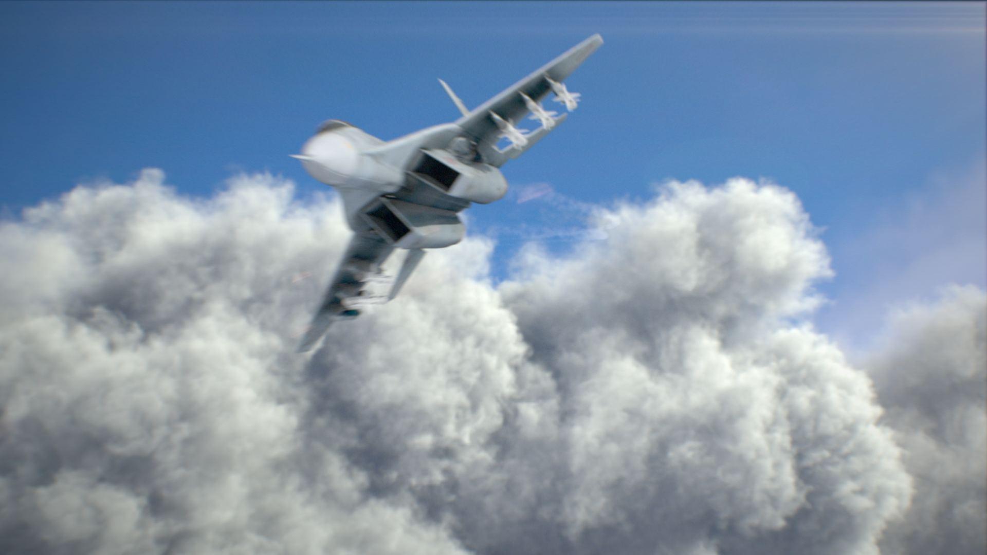 Фрагмент сцены из VFX-pack-2