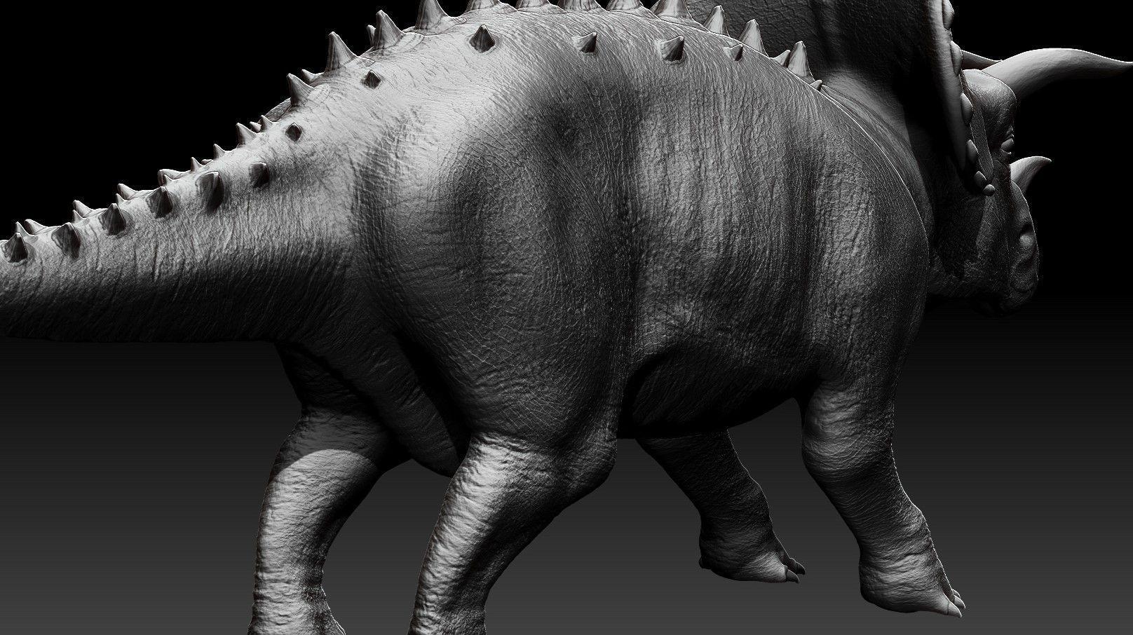 dinosaur-tritseraptor-high-poly-3d-model-obj-ztl